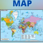 World Map HD High Resolution PDF Free Download