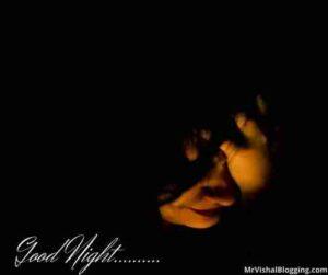 sad good night images