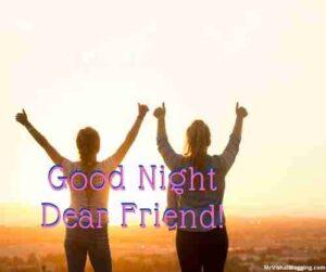 good night dear friend