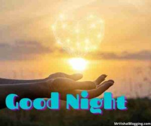 good night heart images