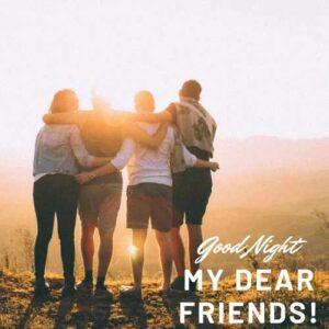 good ni8 all friends