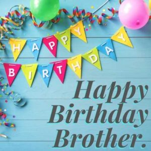 birthday wishes images for brother
