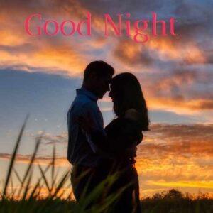 good night kiss pic