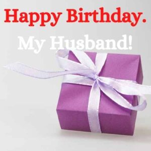 happy birthday to my husband funny