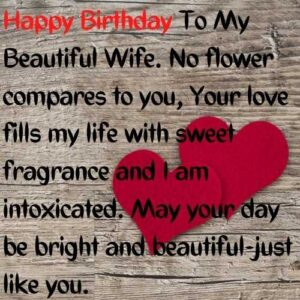wife happy birthday