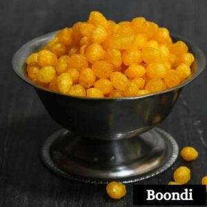 Boondi Sweets Images