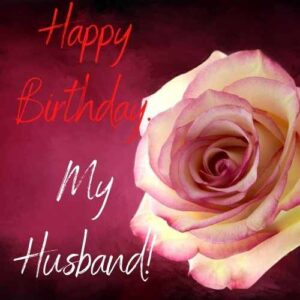 happy birthday to husband