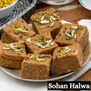 Sohan Halwa Sweets Images