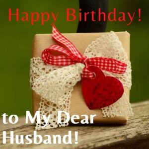 happy birthday wishes to husband