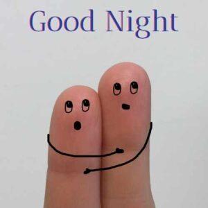 good night love you kiss