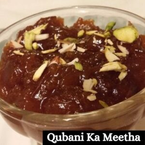 Qubani Ka Meetha Sweets Images