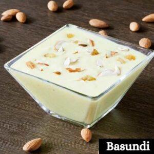 Basundi Sweets Images