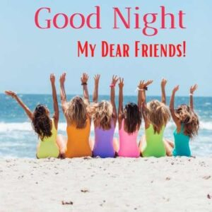good night message for girlfriend