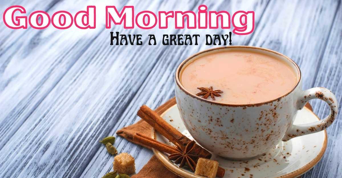Good Morning Tea HD Images Download