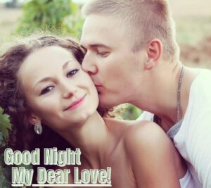 good night couple images, love couple pic