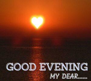 romantic good evening love images
