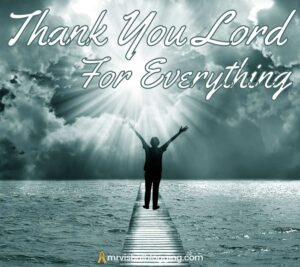 thank you lord for everything images