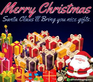 Merry Christmas pictures for Whatsapp