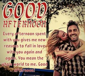 romantic good afternoon images for girlfriend