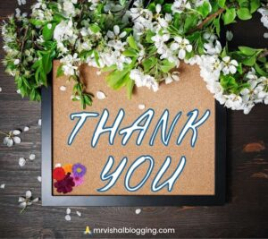 free thank you images with flowers