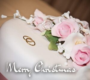 Merry Christmas cake wishes images