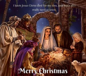 Merry Christmas Jesus Images