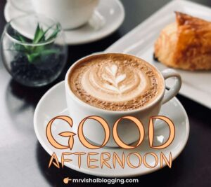 good afternoon Whatsapp DP with coffee pics