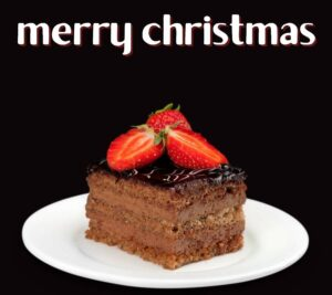 Merry Christmas cake HD images