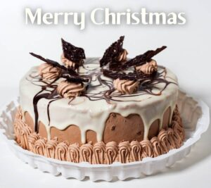 Merry Christmas cake images