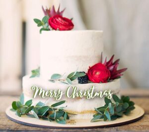 Merry Christmas cake Images with quotes