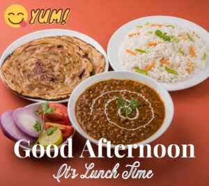 Good Afternoon Images with Lunch Download