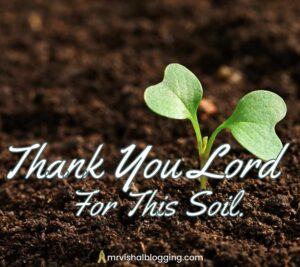 thank you god for this soil images