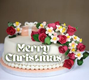 Merry Christmas cake Images for WhatsApp