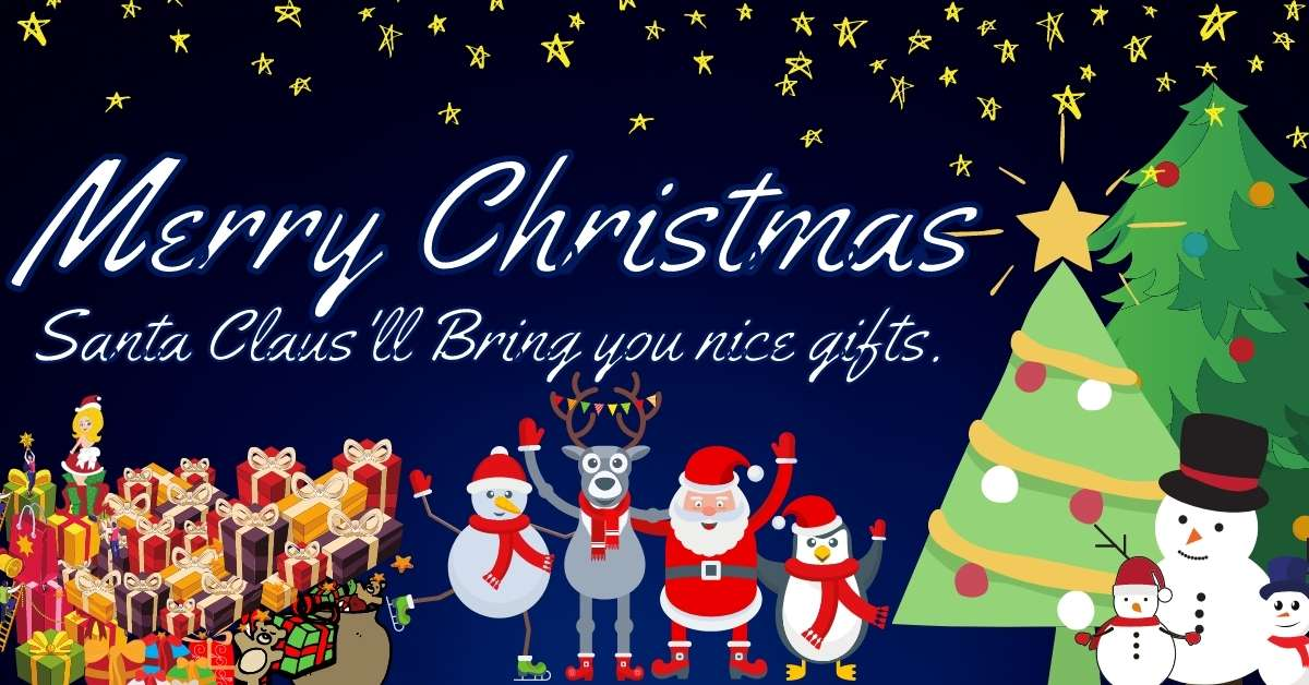 Merry Christmas Santa Claus HD Images For Facebook WhatsApp