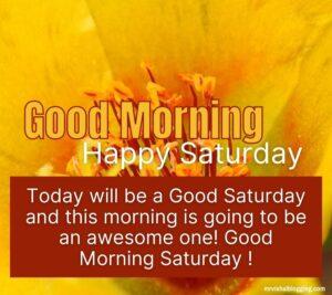 happy saturday good morning hd wallpaper