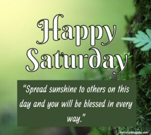 Happy Saturday Blessings Pictures