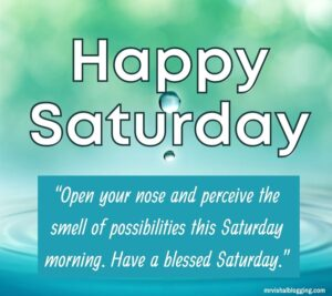 Happy Saturday Morning Blessings Images