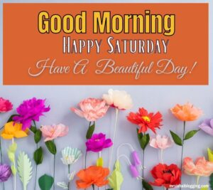 Happy Saturday good morning Greetings with have a beautiful day