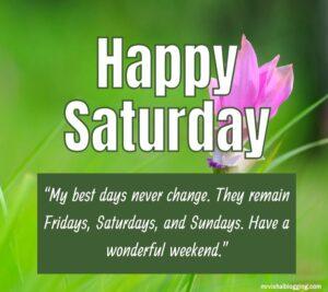 Happy Saturday Blessings Pics