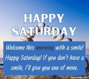 good morning happy Saturday quotes pics download