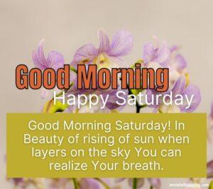 happy saturday good morning wallpaper download