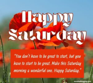 Happy blessed Saturday quotes with images