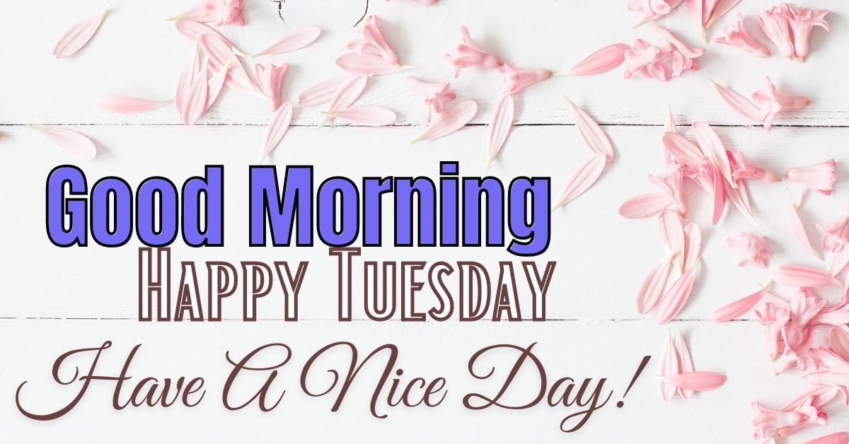 Happy Tuesday Good Morning Images With Quotes HD Download