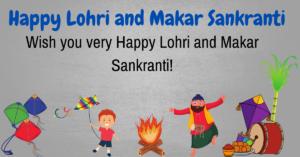 Happy Lohri And Makar Sankranti Images English Quotes