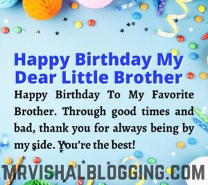 happy birthday little brother images download