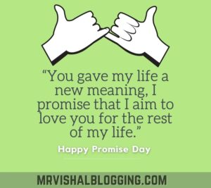happy Promise day pics download with messages