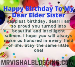 happy birthday elder sister images and quotes