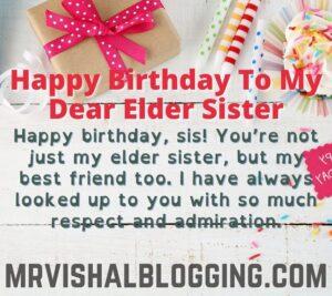 happy birthday elder sister HD images