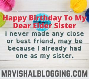 happy birthday wishes for elder sister images