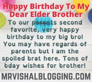 happy birthday images with quotes for elder brother